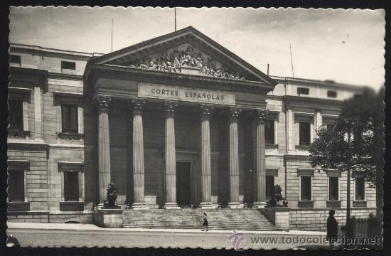 POSTAL DE MADRID Nº 116 PALACIO DE LAS CORTES ESPAÑOLAS (Postales - España - Madrid Moderna (desde 1940))