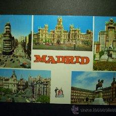 Postales: 8269 ESPAÑA SPAIN ESPAGNE MADRID POSTCARD AÑOS 60 CIRCULADA - TENGO MAS POSTALES. Lote 23798203
