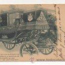 Postales: S. M. EL REY D. ALFONSO XIII DIRIGIENDOSE A LA APERTURA DE CORTES DE 1899. (A. CANOVAS Nº856. H Y M). Lote 24273937