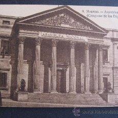 Cartoline: MADRID,ASAMBLEA NACIONAL,CONGRESO DE LOS DIPUTADOS.. Lote 24254360