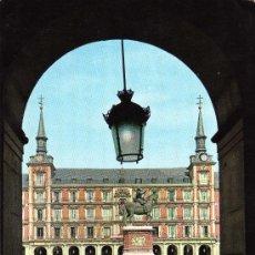Cartes Postales: MADRID Nº 74 PLAZA MAYOR ESCRITA CIRCULADA CON SELLO ED. GARRABELLA. Lote 24272218