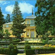 Postales: POSTAL MADRID EL ESCORIAL CASITA DEL PRINCIPE FACHADA. Lote 24498290