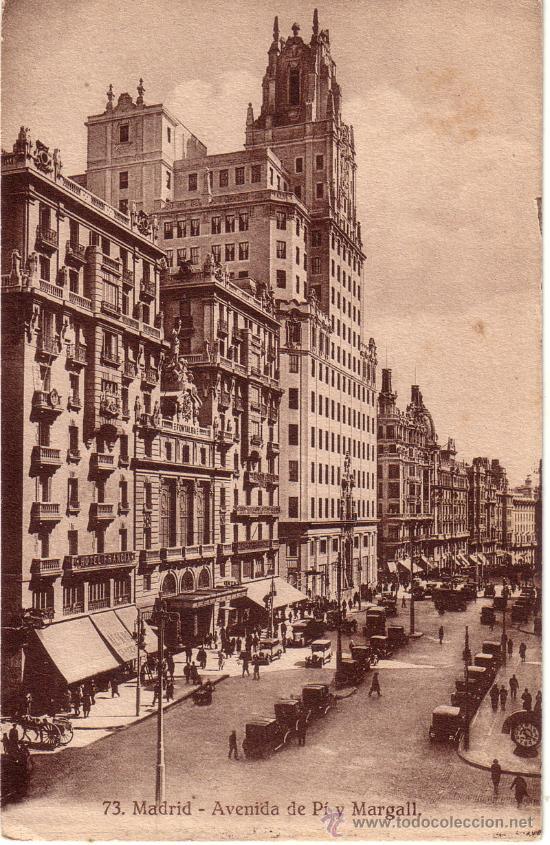 Nº 7810 MADRID AVENIDA DE PI Y MARGALL (Postales - España - Comunidad de Madrid Antigua (hasta 1939))