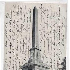 Postales: MADRID. MONUMENTO DEL DOS DE MAYO. FOT. LAURENT. REVERSO SIN DIVIDIR. CIRCULADA. Lote 24600987