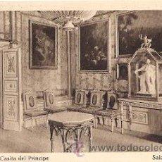 Postales: EL ESCORIAL - CASITA DEL PRINCIPE - SALA DE LA TORRE. Lote 24603577