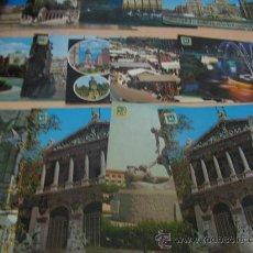 Postales: LOTE DE 15 POSTALES DE MADRID ANTIGUAS.. Lote 24624202