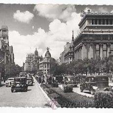 Postales: MADRID. CALLE ALCALA, VISTA PARCIAL. ED. GARCIA GARRABELLA. CIRCULADA.. Lote 271412828