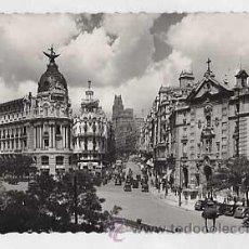 Postales: MADRID. CALLE ALCALA, AVENIDA JOSE ANTONIO. ED. GARCIA GARRABELLA 1 ESCRITA. Lote 24732540