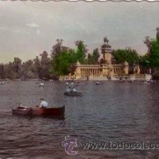 Postales: Nº 7674 MADRID PARQUE DEL RETIRO. Lote 24743365
