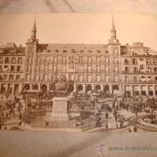 Postales: ANTIGUA POSTAL MADRID, PLAZA MAYOR.. Lote 24896856