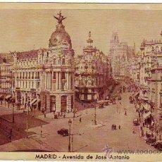 Postales: MADRID - AVENIDA DE JOSE ANTONIO - POSTAL FOTOGRAFICA - HUECOGRABADO MUMBRU. Lote 24898945