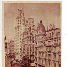 Postales: MADRID - AVENIDA DE JOSE ANTONIO - POSTAL FOTOGRAFICA - HUECOGRABADO MUMBRU. Lote 24899153