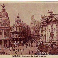 Postales: MADRID - AVENIDA DE JOSE ANTONIO - POSTAL FOTOGRAFICA - HUECOGRABADO MUMBRU. Lote 24899275