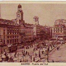 Postales: MADRID - PUERTA DEL SOL - POSTAL FOTOGRAFICA - HUECOGRABADO MUMBRU. Lote 24899294