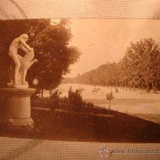 Postales: ANTIGUA POSTAL DE MADRID, PARQUE DEL RETIRO.. Lote 24918401