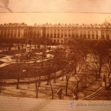 Postales: ANTIGUA POSTAL DE MADRID, PLAZA DE ORIENTE Y PALACIO REAL.. Lote 24918428