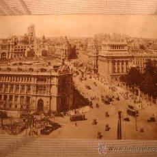 Postales: ANTIGUA POSTAL DE MADRID, VISTA PARCIAL.. Lote 24918475