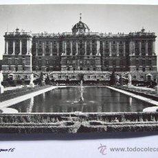 Postales: MADRID, PALACIO REAL, PLAIS ROYALE, ROYAL PALACE. N° 6 EDIC. DOMINGUEZ.. Lote 26441212