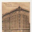 Postales: MADRID. HOTEL GRAN VIA. AVENIDE PI Y MARGALL, 3. (HAUSER Y MENET). Lote 25215208