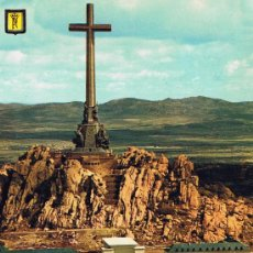 Cartes Postales: VALLE DE LOS CAIDOS A VISTA DE PAJARO QUE NO CAE MADRID A ESTRENAR. Lote 39234192