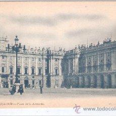 Postales: MADRID - 17- PLAZA DE LA ARMERIA - FOT. LAURENT - (5487). Lote 25281957