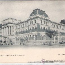Postales: MADRID - 12- MINISTERIO DE FOMENTO - FOT. LAURENT - (5495). Lote 25282275