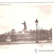 Postales: MADRID - 2 - FUENTE DE NEPTUNO -COLECCION MARIN SERIE 5ª- FOT. LAURENT - (5505). Lote 25282536