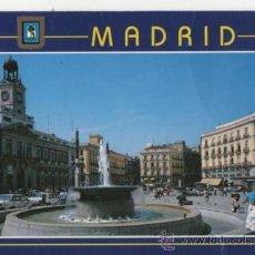 Postales: PUERTA DEL SOL . MADRID . AÑOS 90 . SIN CIRCULAR. L.DOMINGUEZ Nº 70. Lote 116936452