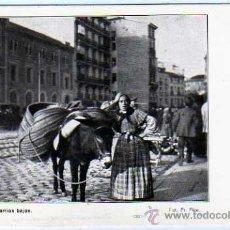 Postales: MADRID .BARRIO BAJOS. FOTOGRIA INFANTA PILAR DE BORBON. SIN CIRCULAR.. Lote 25571229
