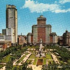 Cartes Postales: MADRID Nº 44 PLAZA DE ESPAÑA ESCRITA CIRCULADA CON SELLO EDICIONES FISA. Lote 25796075