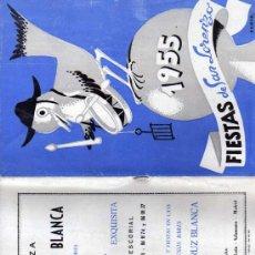Postales: FIESTAS DE SAN LORENZO. MADRID. COBOS ILUSTRADOR. CERVEZA LA CRUZ BLANCA, EL AGUILA Y COCA- COLA.. Lote 25920418