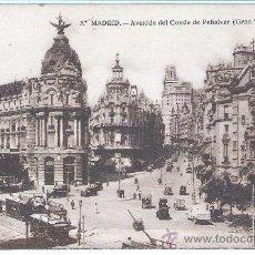 Postales: MADRID , AVENIDA DEL CONDE DE PEÑALVER . Lote 25920734
