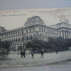 Postales: POSTAL ANTIGUA CON IMAGEN DE MADRID -MINISTERIO DE FOMENTO-. CIRCULADA EN AGOSTO DE 1917.. Lote 27396356