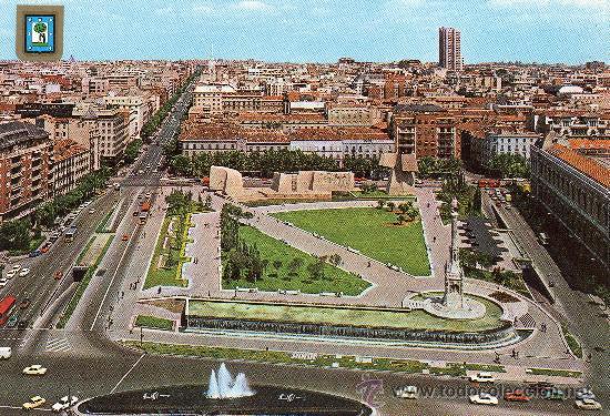 Madrid plaza de colon jardines del descubrimi comprar for Jardines de plaza