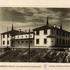 Postales: GUADARRAMA. MADRID. CASA CUARTEL DE LA GUARDIA CIVIL. DIRECCION GENERAL DE REGIONES DEVASTADAS.. Lote 26110166