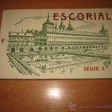 Postales: ESCORIAL SERIE I 20 TARJETAS POSTALES FOTOTIPIA DE HAUSER Y MENET. Lote 27505045