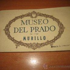 Postales: MUSEO DEL PRADO .MURILLO 20 TARJETAS POSTALES FOTOTIPIA DE HAUSER Y MENET. Lote 26132942