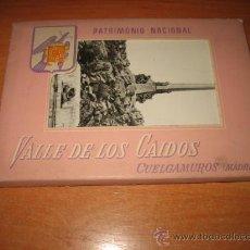 Postales: VALLE DE LOS CAIDOS CUELGAMUROS (MADRID) EDITORIAL PATRIMONIO NACIONAL. Lote 26133265