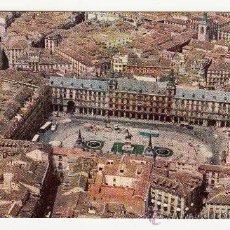Postales: POSTAL PLAZA MAYOR MADRID 1960,CON PUBLICIDAD DE IBERIA. Lote 26167274