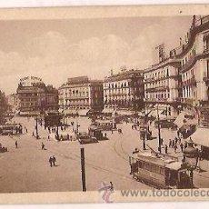 Postales - ANTIGUA POSTAL 88 MADRID PUERTA DEL SOL HELIOTIPIA DE KALLMEYER Y GAUTIER - 26373957
