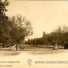 Postales: MADRID.- PASEO DE LA CASTELLANA.- HAUSER Y MENET Nº 375. Lote 26929309