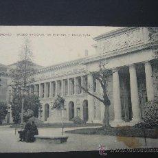 Postales: MADRID. MUSEO NACIOANAL DE PINTURA Y ESCULTURA. CIRCULADA, ESCRITA Y SELLO DE 10 CTS ALFONSO XIII. Lote 26930556