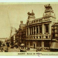 Postales: POSTAL MADRID BANCO DE BILBAO CIRCULADA. Lote 26979298