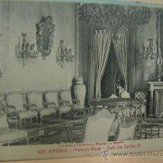 Postales: MADRID PALACIO REAL CIRCULADA EN 1914. Lote 27034214