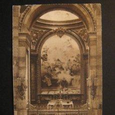 """Postales: """"SAN FRANCISCO EL GRANDE: CAPILLA DE CARLOS III"""". CIRCULADA, ESCRITA Y SELLO 15 CTS DE ALFONSO XIII. Lote 27170742"""