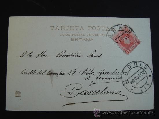 Postales: DORSO DE LA POSTAL - Foto 3 - 27202503