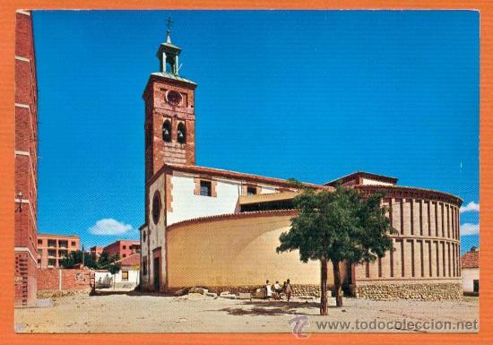 MOSTOLES - MADRID - IGLESIA PARROQUIAL - Nº 5 ED, VISTABELLA - AÑO 1968 (Postales - España - Madrid Moderna (desde 1940))