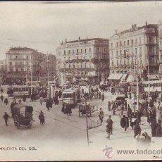 Postales: MADRID. PUERTA DEL SOL. Lote 27313077