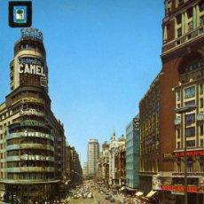 Cartes Postales: MADRID Nº 56 PLAZA CALLAO Y CAPITOL ESCRITA CIRCULADA SELLO EDICIONES FISA . Lote 27494018