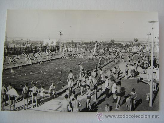 Antigua postal a o 1960 ciudad pegaso piscina comprar - Ciudad pegaso madrid ...
